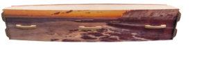 CoastalSunset Casket