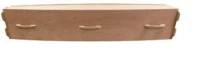 Natural Wood Casket