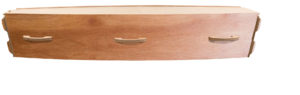 Waxed Timber Casket